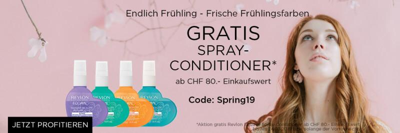 Frühling gratis Revlon Spray Conditione