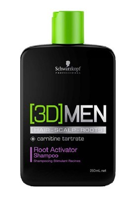 [3D] MEN Root Activator Shampoo - 250ml