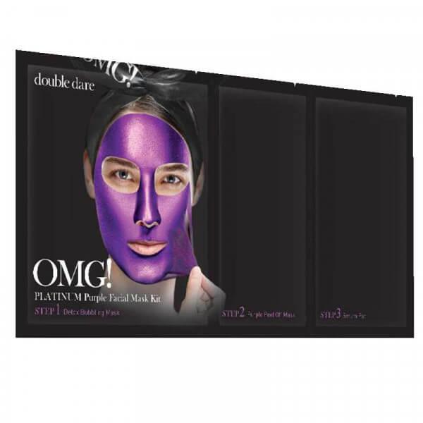 OMG! Platinum Purple Facial Mask Kit