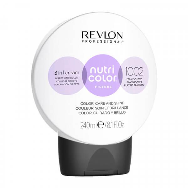 Revlon Nutri Color Creme 1002 Pale Platinum - 240 ml