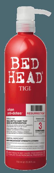Tigi Bed Head Resurrection Conditioner Urban Anti Dotes 750ml