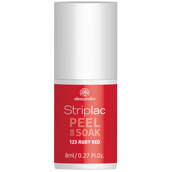 Striplac Peel or Soak - Ruby Red