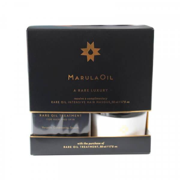 MarulaOil Rare Treatment & gratis Intensive Hair Masque