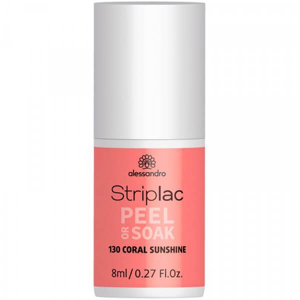 Striplac Peel or Soak - Coral Sunshine