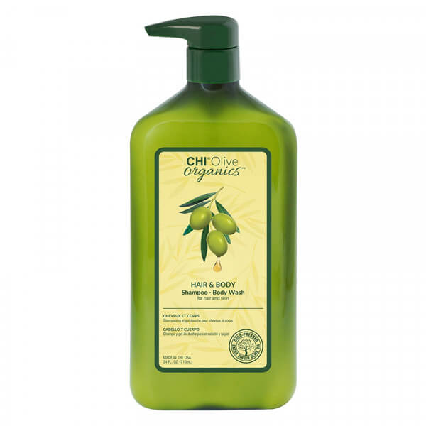 Olive Organic Hair & Body Shampoo - 710ml