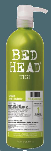 Tigi Bed Head Re-Energize Shampoo (750ml)