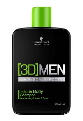 [3D] MEN Hair & Body Shampoo - 250ml
