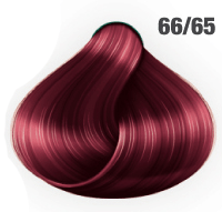 AWESOMEcolors Silky Shine 66/65 Dunkelblond Intensiv Violett-Mahagoni 60 ml