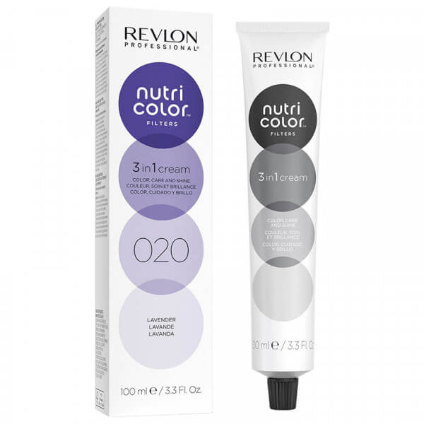 Revlon Nutri Color Creme 020 Lavender - 100ml