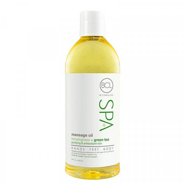 Massage Oil Lemongrass and Green Tea