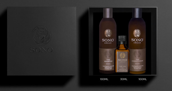 Sono Argan Shampoo & Conditioner & Oil Set medium