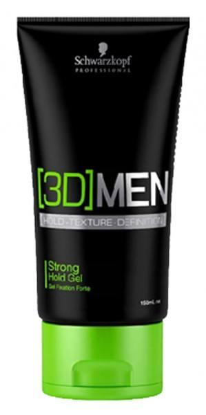 [3D] MEN Strong Hold Gel (150ml)