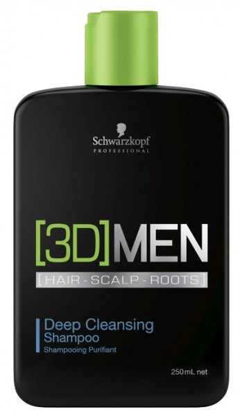[3D] MEN Deep Cleansing Shampoo - 250ml