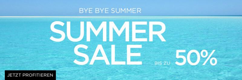 Bye Bye Summer Sale 50%
