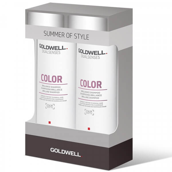 Duopack Summer of Style Color Brilliance Shampoo – 2x 250ml