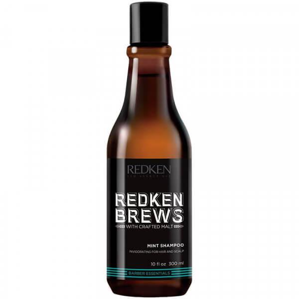 Brews Mint Shampoo Redken Bier