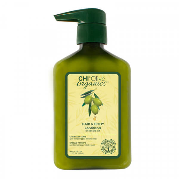 Olive Organic Hair & Body Conditioner - 340ml