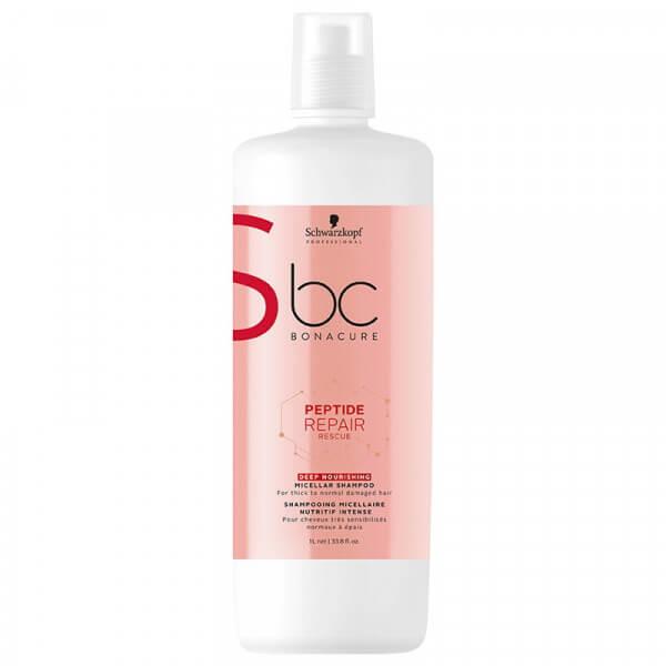 BC Peptide Repair Rescue Deep Nourishing Micellar Shampoo Schwarzkopf