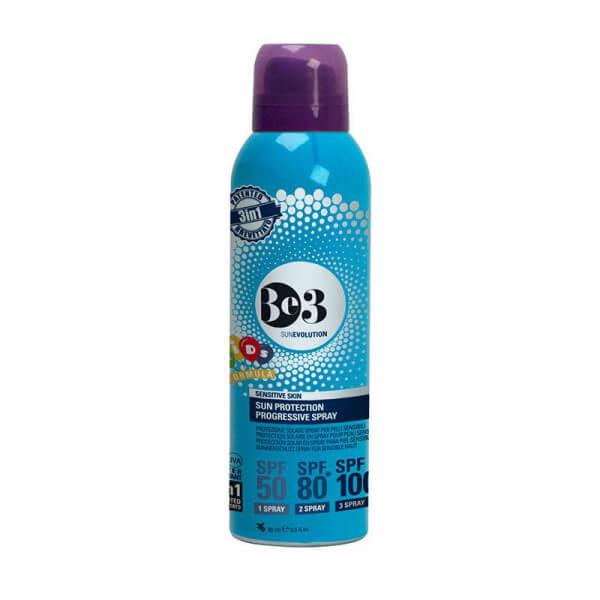 Sun Protection Spray Sensitive Skin SPF 50/80/100 Reisegrösse
