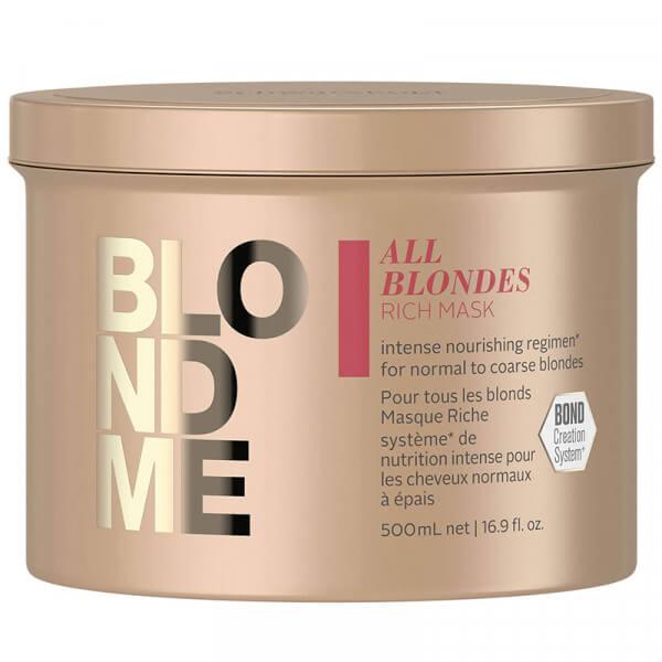 BLONDME All Blondes Rich Mask - 500ml