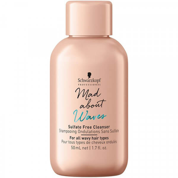 Sulfate Free Cleanser Mad About Waves Schwarzkopf klein