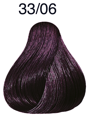 Color Touch Plus 33/06 dunkelbraun intensiv natur-violett