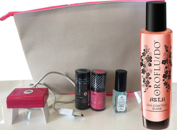 Orofluido + Alessandro Fusion Travel Set Pink
