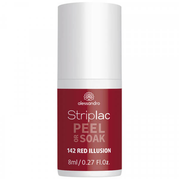 Striplac Peel or Soak - Red Illusion
