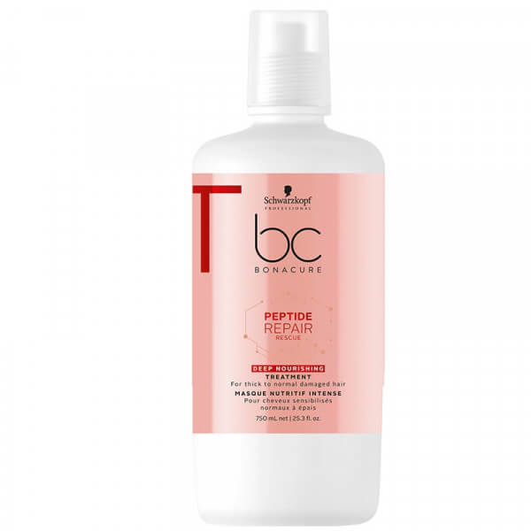 BC Peptide Repair Rescue Deep Nourishing Treatment - 750ml Schwarzkopf