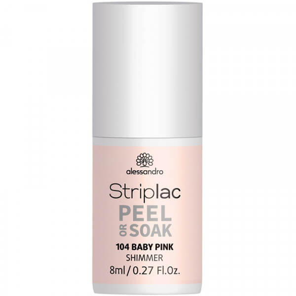 Striplac Peel or Soak - Baby Pink