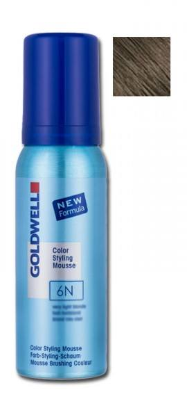 Goldwell Color Styling Mousse 6N Dunkelblond