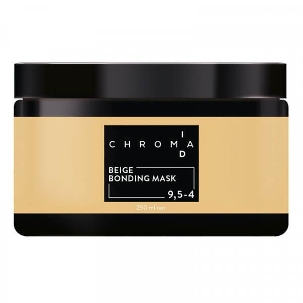 Chroma ID Bonding Color Mask 9,5-4 Platinblond Beige - 250ml
