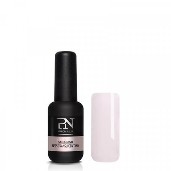 So Polish 25 Translucent'Pink Gellack