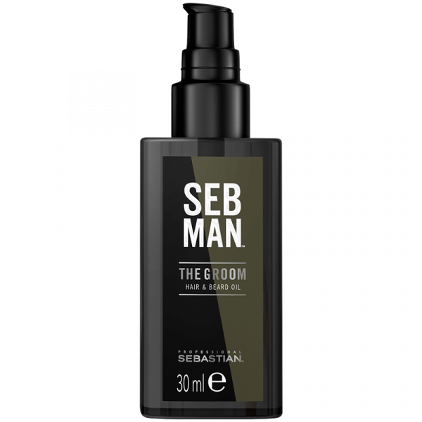 Seb Man The Groom Hair & Beard Oil - 30ml