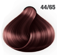 AWESOMEcolors Silky Shine 44/65 Mittelbraun Intensiv Violett-Mahagoni 60 ml