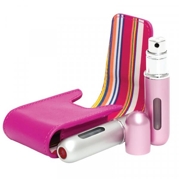 Travalo - Parfümzerstäuber Set - Pink