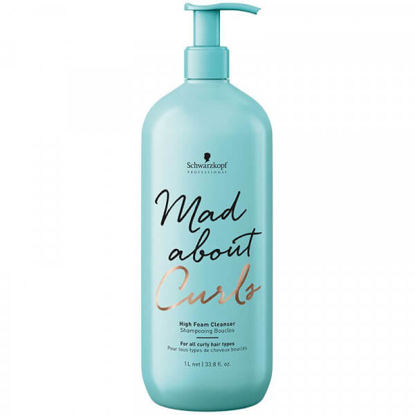 Schwarzkopf Mad About Curls High Foam Cleanser gross