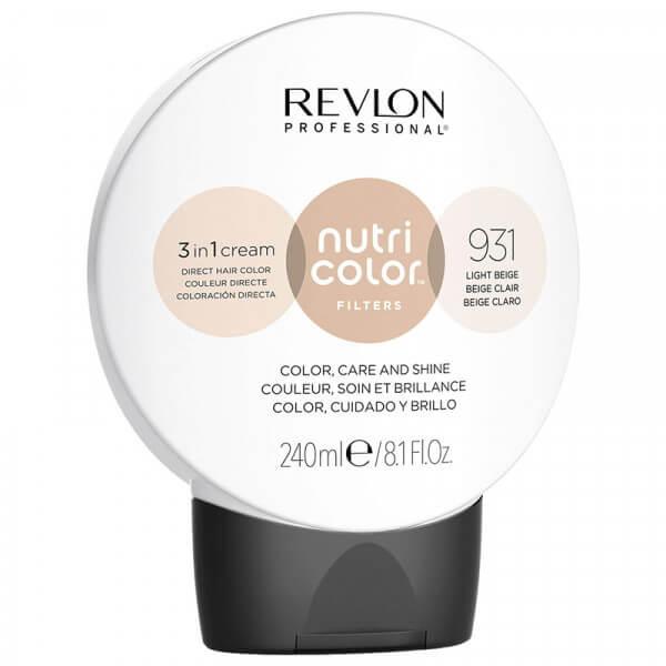 Revlon Nutri Color Creme 931 Light Beige - 240ml