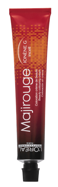 L'Oréal Majirouge Abs 5.60 hellbraun intensives rot