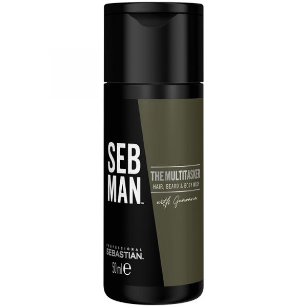 Seb Man The Multi-Tasker Hair Beard & Body Wash - 50ml
