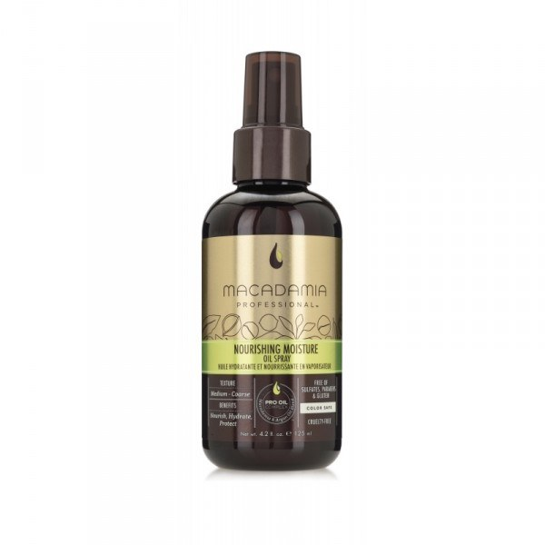 Macadamia Nourishing Moisture Oil Spray (125ml)