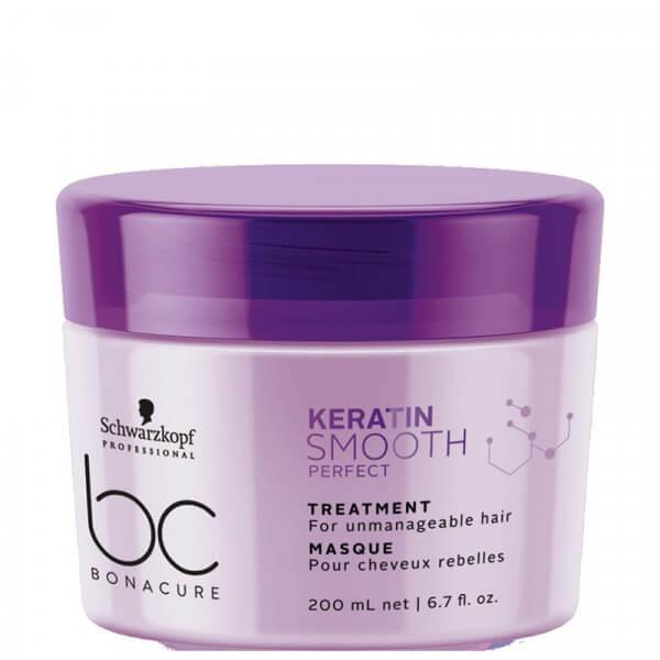 Haarmaske Schwarzkopf BC Keratin Smooth Perfect Treatment