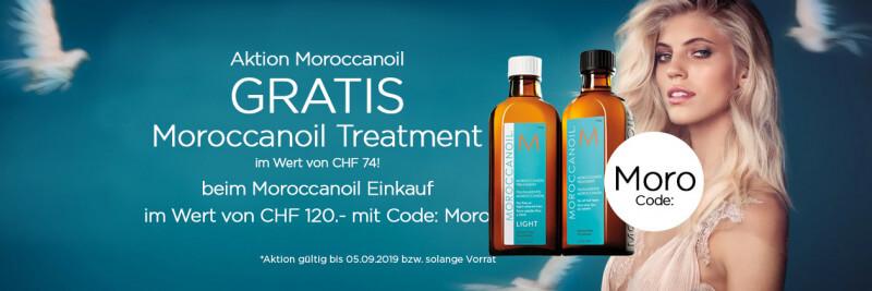 Gratis Moroccanoil Treatment