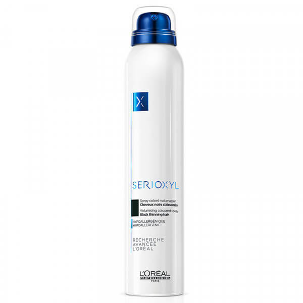 Serioxyl Black Volumizing Coloured Spray - 200ml