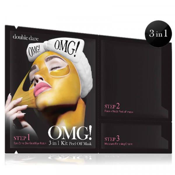 OMG! 3in1 Kit Peel Off Mask