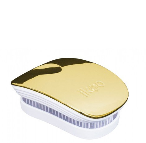 Ikoo Bürste Pocket soleil/white metallic