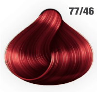 AWESOMEcolors Silky Shine 77/46 Mittelblond Intensiv Rot-Violett 60 ml