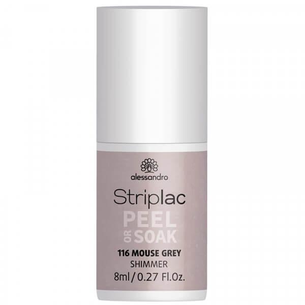 Striplac Peel or Soak - Mouse Grey