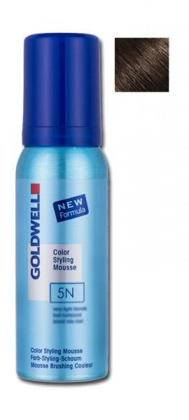 Goldwell Color Styling Mousse 5N Hellbraun