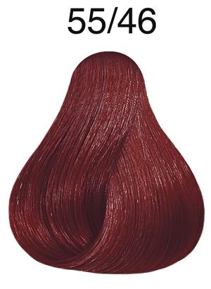 Vibrant Reds 55/46 hellbraun intensiv rot-violett